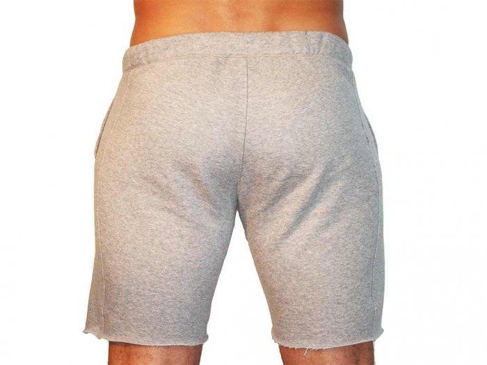Focus Gymwear korte broek grijs achterkant man