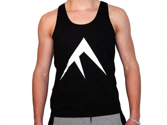 Focus Gymwear Tanktop zwart voorkant man